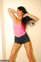 Raunchy Raven. Hot Pants & Pink Pt1 Free Pic 10