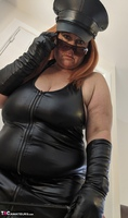 Mrs Leather. Domme With The Hat Free Pic 8