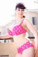 Susy Rocks. Polka Dot Bikini Pt2 Free Pic 9