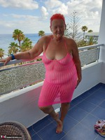ValGasmic Exposed. Pink Dress Free Pic 2
