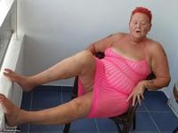ValGasmic Exposed. Pink Dress Free Pic 4