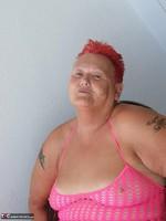 ValGasmic Exposed. Pink Dress Free Pic 7