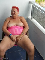 ValGasmic Exposed. Pink Dress Free Pic 13
