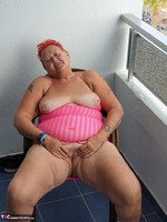 ValGasmic Exposed. Pink Dress Free Pic 14