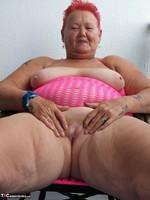 ValGasmic Exposed. Pink Dress Free Pic 15