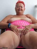 ValGasmic Exposed. Pink Dress Free Pic 16