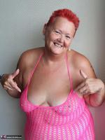 ValGasmic Exposed. Pink Dress Free Pic 17