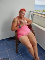 ValGasmic Exposed. Pink Dress Free Pic 18