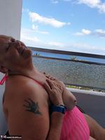 ValGasmic Exposed. Pink Dress Free Pic 19
