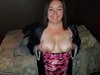 Sexy NE BBW. Black Nightie Free Pic 3