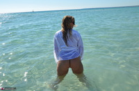 Sweet Susi. Wet T-Shirt On The Public Beach Free Pic 18