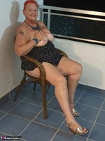 ValGasmic Exposed. Silver Shoes Free Pic 8