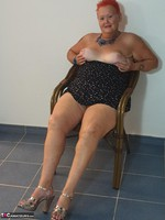 ValGasmic Exposed. Silver Shoes Free Pic 10