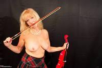 Veronique. Orchestra Pantyhose Strip Free Pic 10