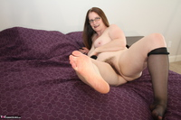 Missy. Black thigh high stockings Free Pic 20