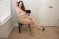 Missy. Strappy White Heels Free Pic 14
