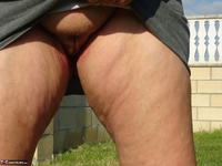 Abby Roberts. Outdoor Indoor - Horny Mature Cunt Free Pic 2