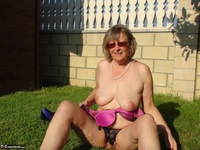 Abby Roberts. Outdoor Indoor - Horny Mature Cunt Free Pic 3