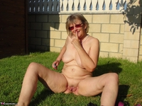 Abby Roberts. Outdoor Indoor - Horny Mature Cunt Free Pic 6