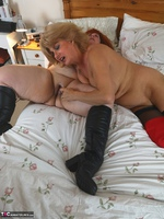 Mrs Leather. Girl On Girl Action Free Pic 10
