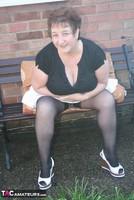 Kinky Carol. White Mini & Stockings Pt1 Free Pic 7