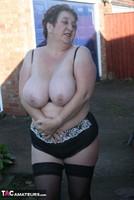 Kinky Carol. White Mini & Stockings Pt2 Free Pic 8
