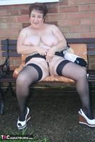 Kinky Carol. White Mini & Stockings Pt2 Free Pic 16