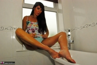 Raunchy Raven. Beautiful Raven Naked In Her Bathroom Pt1 Free Pic 6