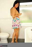 Raunchy Raven. Beautiful Raven Naked In Her Bathroom Pt1 Free Pic 15