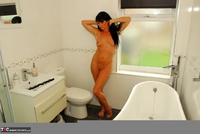 Raunchy Raven. Beautiful Raven Naked In Her Bathroom Pt2 Free Pic 17