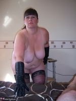 Mrs Leather. Mistress Leather Loves A Hard Cock Pt2 Free Pic 4