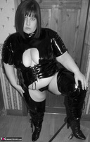 Mrs Leather. Kinky PVC All In One Outfit Free Pic 1