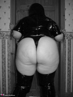 Mrs Leather. Kinky PVC All In One Outfit Free Pic 6
