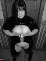 Mrs Leather. Kinky PVC All In One Outfit Free Pic 15