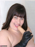 Mrs Leather. Leather Gloved Toy Play Free Pic 7