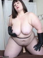 Mrs Leather. Leather Gloved Toy Play Free Pic 8