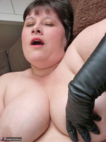 Mrs Leather. Leather Gloved Toy Play Free Pic 14