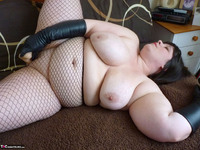 Mrs Leather. Leather Gloved Toy Play Free Pic 15