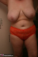 Kinky Carol. Orange Panties Free Pic 2