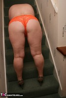 Kinky Carol. Orange Panties Free Pic 4