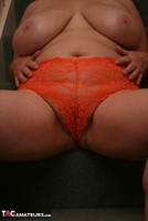 Kinky Carol. Orange Panties Free Pic 8