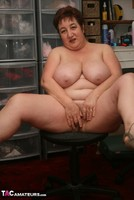 Kinky Carol. Orange Panties Free Pic 1