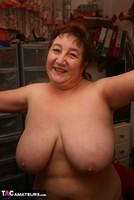 Kinky Carol. Orange Panties Free Pic 3