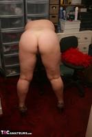 Kinky Carol. Orange Panties Free Pic 5