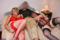 Curvy Claire. Threesome Fuck Pt1 Free Pic 1