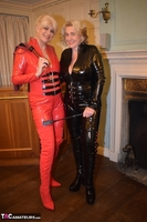 Phillipas Ladies. Dimonty & Camilla In Their PVC Catsuits Free Pic 1