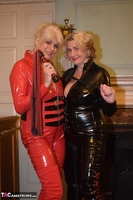 Phillipas Ladies. Dimonty & Camilla In Their PVC Catsuits Free Pic 3