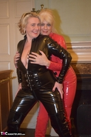 Phillipas Ladies. Dimonty & Camilla In Their PVC Catsuits Free Pic 4