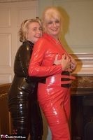 Phillipas Ladies. Dimonty & Camilla In Their PVC Catsuits Free Pic 5