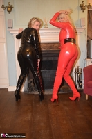 Phillipas Ladies. Dimonty & Camilla In Their PVC Catsuits Free Pic 6